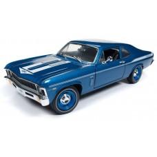 Auto World 1/18 1969 Chevy Nova Yenko Coupe Die-Cast Car