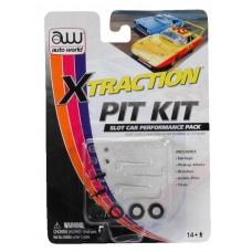Auto World X-Traction HO Slot Car Pit Pack