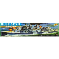 1:125 Blue Devil Destroyer Plastic Model Kit
