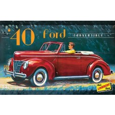 1:32 1940 Ford Convertible Plastic Model Kit