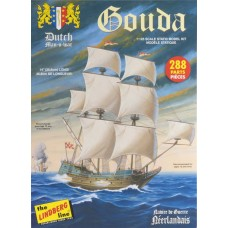 1:125 Gouda Dutch Man of War Plastic Model Kit