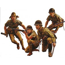 1/35 Japanese Army Infantry Plastic Model Kit