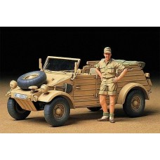 1:35 German Kubelwagen Afrika Plastic Model Kit