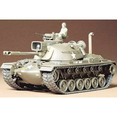 1:35 US M48A3 Patton Tank Plastic Model Kit