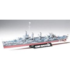 1:350 US Navy DD445 Fletcher Plastic Model Kit