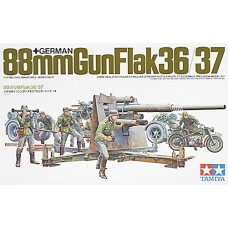 1/35 German 88mm Gun Flak 36/37 Plastic Model Kit