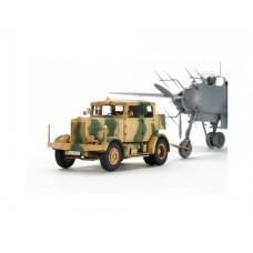 Tamiya 1/48 German Heavy Tractor SS-100 Plastic Model Kit
