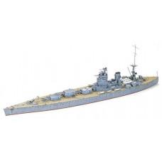 Tamiya 1/700 British Rodney Battleship Waterline Plastic Model Kit
