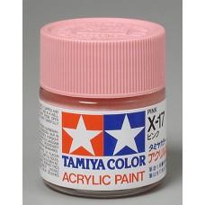 X17 Pink 3/4 oz Acrylic Paint Jar