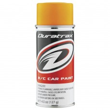 Duratrax Fluorescent Bright Orange Lexan Body Spray Paint