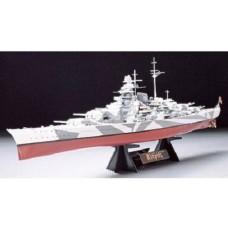 Tamiya 1:350 Battleship Tirpitz Plastic Model Kit