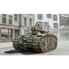 Italeri 1/56 Char B1 Tank - 3 Drivers Plastic Model Kit