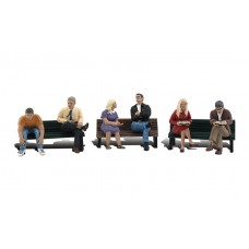 Woodland Scenics N Scale People On Benches