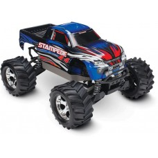 Traxxas Stampede 4x4 1/10 Brushed Truck RTR Blue