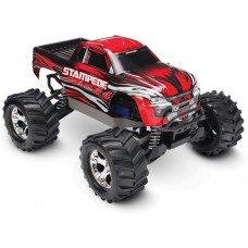 Traxxas Stampede 4x4 1/10 Brushed Truck RTR Red