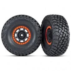 Traxxas Assembled BFGoodrich Tires Method Racing Wheels Orange 8472