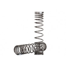 Traxxas Shock Springs - Front (Natural Finish) (Gtr)
