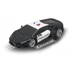 Carrera 1/32 Digital Lamborghini Huracán Police Car w/Lights Slot Car