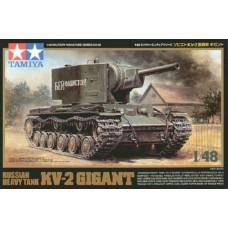 Tamiya 1/48 Russian KV2 Gigant Heavy Tank Plastic Model Kit