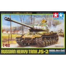Tamiya 1/48 Russian Heavy Tank JS-2 1944 Plastic Model Kit