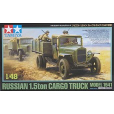 Tamiya 1/48 Russian 1.5 Ton Truck Model 1941 Plastic Model Kit