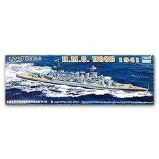 Trumpeter 1/700 HMS Hood '41 British Battleship Plastic Model Kit
