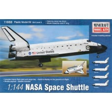 1/144 NASA Space Shuttle Plastic Model Kit