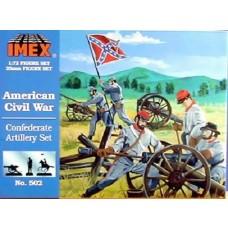 Imex Model Co. 1/72 Confederate Artillery Plastic Model Kit