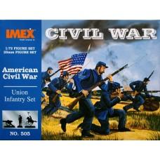 Imex 1:72 Union Infantry Plastic Model Kit