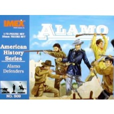 Imex Model Co. 1:72 Texas Alamo Infantry Plastic Model Kit