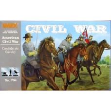 Imex Model Co. 1/32 Confederate Cavalry Plastic Model Kit