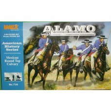 Imex Model Co. 1/32 Mexican Alamo RT Cavalry Plastic Model Kit