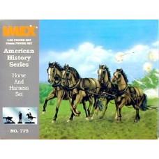 Imex Model Co. 1/32 Union Horses Plastic Model Kit