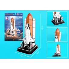 Space Shuttle 3D Puzzle On Lau