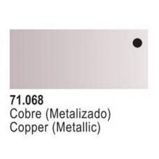 Copper Metallic Model Air Color 17ml Bottle Paint