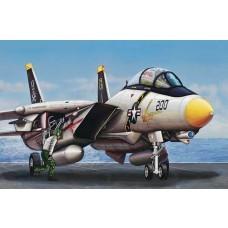 1/144 F-14A Tomcat Fighter Plastic Model Kit
