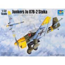 1/32 Junkers Ju-87B-2 Stuka Plastic Model Kit
