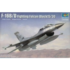 1/144 F-16B/D Fighting Falcon Block 15/30 Plastic Model Kit