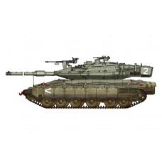 1/72 IDF Merkava Mk.IV Plastic Model Kit