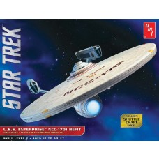 AMT 1/537 Star Trek USS Enterprise Refit Plastic Model Kit