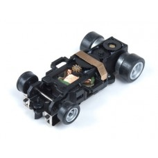 4-Gear Built Slot Car Chassis