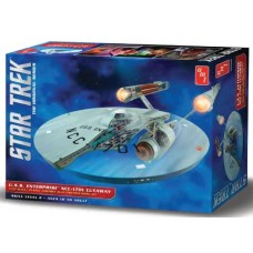 AMT 1/537 Star Trek TOS Enterprise Cutaway Model Kit