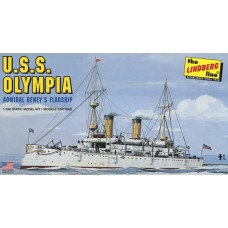 1:240 USS Olympia Plastic Model Kit