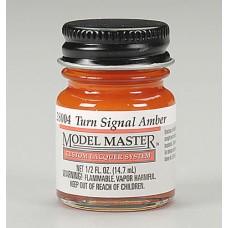 Testors Turn Signal Amber 1/2oz Lacquer Paint Bottle