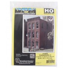 HO Townhouse #1 Building Kit