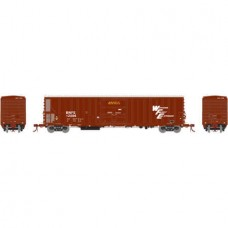 Athearn HO Scale 57' Mechanical Reefer w/Sound BNFE/WFE #12056