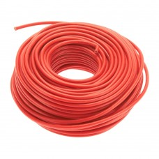 50 Foot 20 Gauge Standard Layout Wire Red
