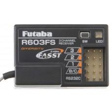 Futaba R603FS 2.4GHz FASST 3 Channel Receiver