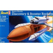 Revell 1/144 Scale Space Shuttle Discovery Plastic Model Kit