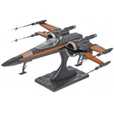 Star Wars Force Awakens Poe's X-Wing Model Kit